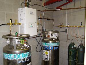 Liquid Gas Dewar Manifold