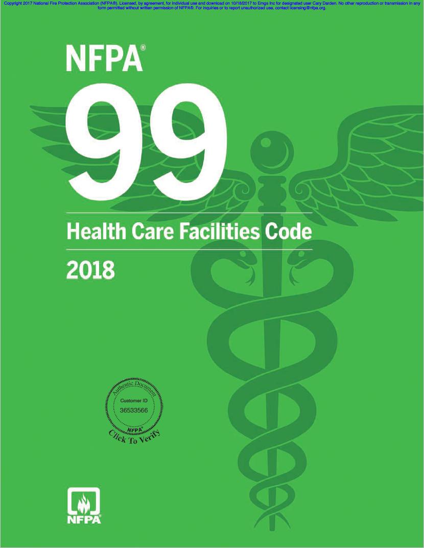 NFPA 99 ASSE 6010 Retest