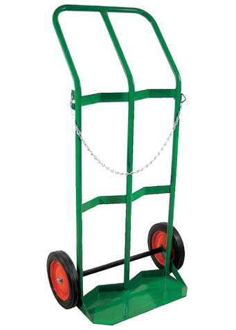 Dual cylinder cart with chain