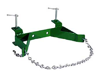 Single cylinder bench mount with chain