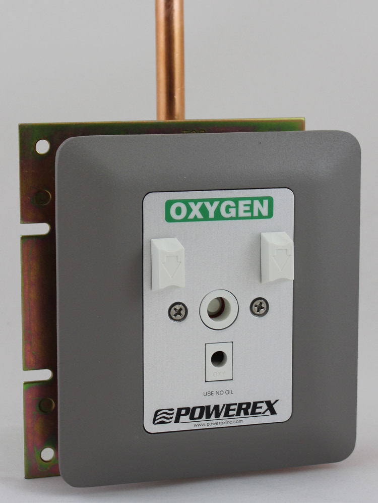 Powerex (Series 1) Medical Gas Outlet - Chemetron