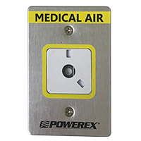 Powerex Medical Gas Outlet - Interchangeable Front Assembly